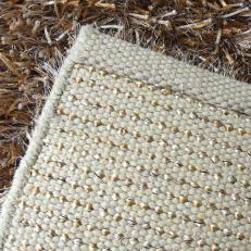 Reverso de la alfombra spaguetti