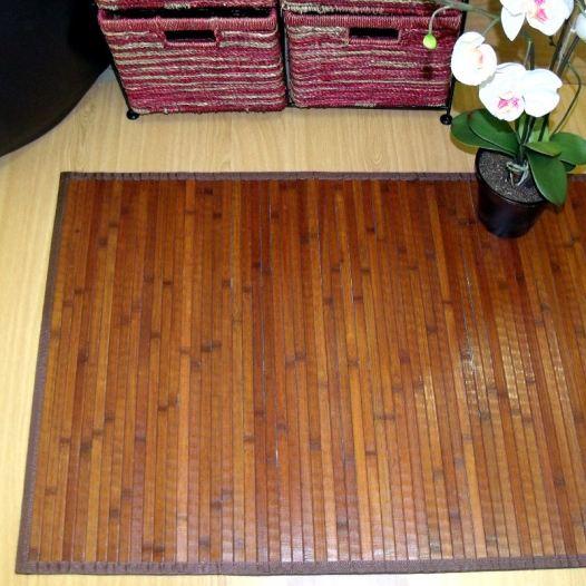 Los pasillos tambi n quieren alfombras de bamb blog de - Alfombra de bambu ...