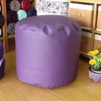 Puff lila redondo