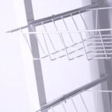 Mesa carrito verdulero blanco