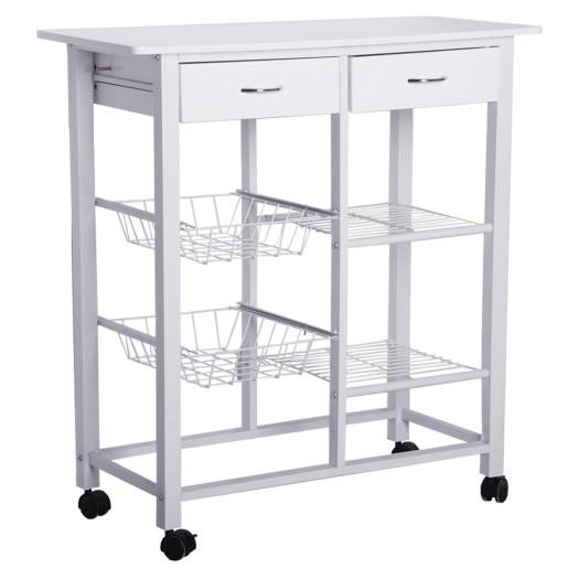 Mesa blanca para cocina
