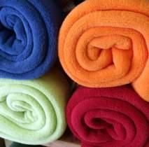 Mantas de colores