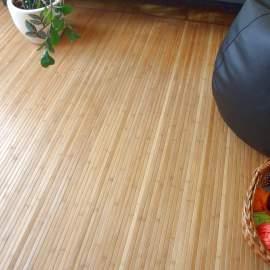 Alfombra de bambú de 180x250