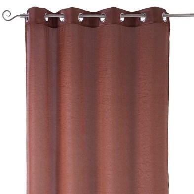 Cortina marrón