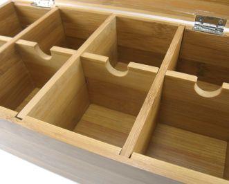 Caja para infusiones de madera