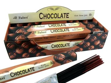 Aroma de incienso de chocolate