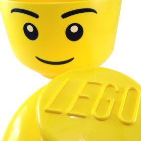 Caja cabeza Lego