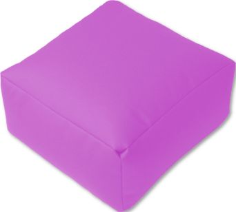 Puff cuadrado lila