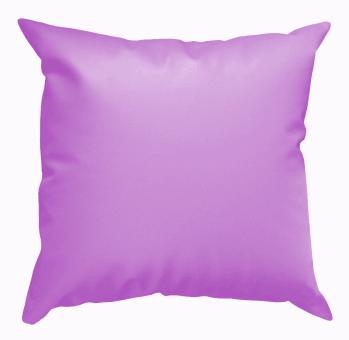 Cojín puff violeta