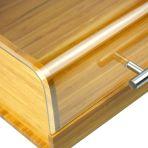 Panera de madera con tapa acrílica