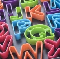 Moldes de letras para galletas