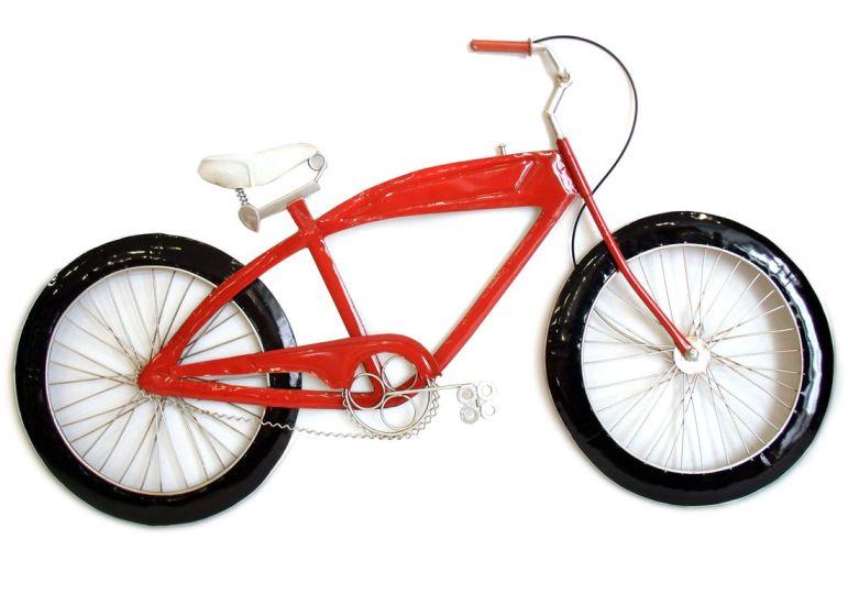 Aplique bicicleta para pared