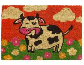 Felpudo estampado Vaca