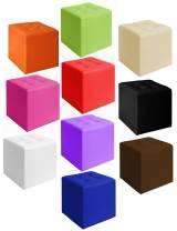 Puffs rígidos cuadrados