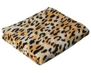 Manta estampado leopardo