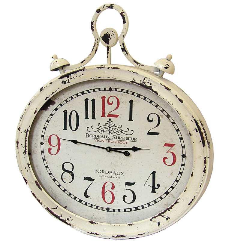 Reloj de estilo antiguo para pared