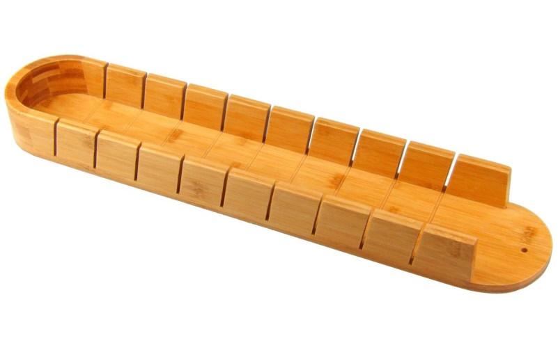 Tabla de cortar pan de bambú