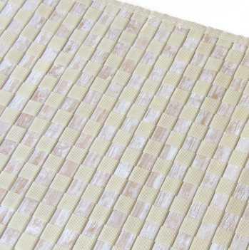 Trenzado de bambú y tela