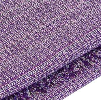 Colcha cobertor de algodón lila