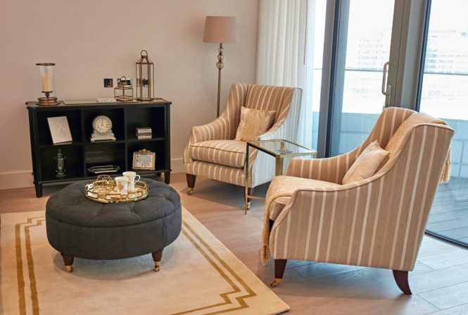 Here S How The Laura Ashley Design Service Executed A Timeless And Classic Look In One Of London Most Contemporary New Apartment Buildings Read More