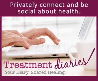 Treatment Diaries Graphic