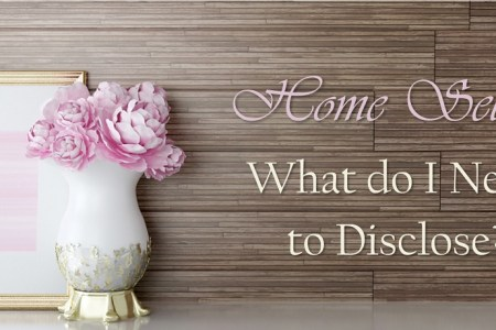 Home Sellers: What do I Need to Disclose?