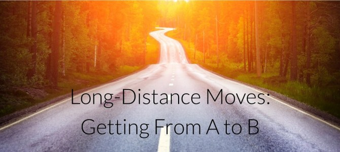 Long-Distance Moves: Getting From A to B