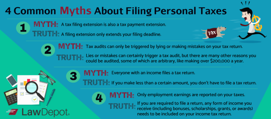 common-tax-myths-about-filing-taxes
