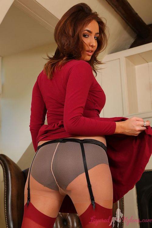 Tan stocking