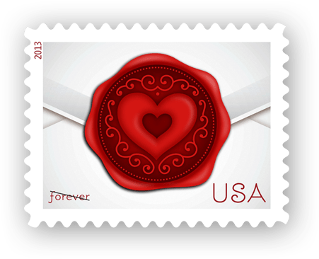USPS Valentines Day Stamps LeadsPlease Direct Mail Blog