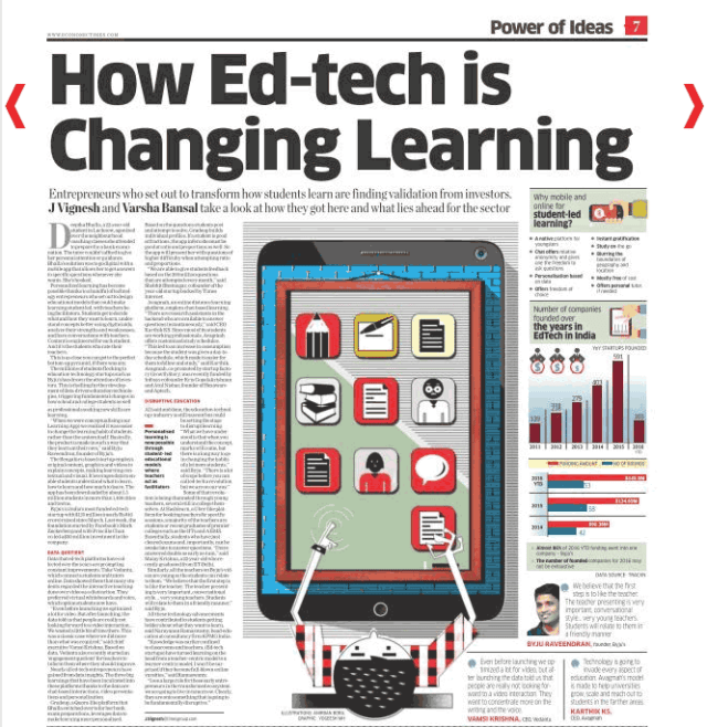 Edtech is changing learning - The Fintech marketing story