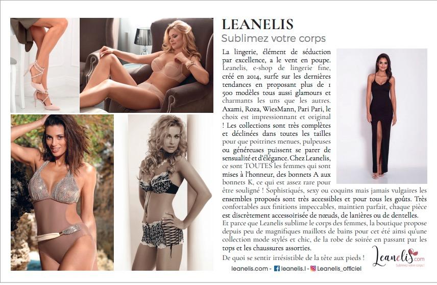 Leanelis a un article dans le magazine Gala !