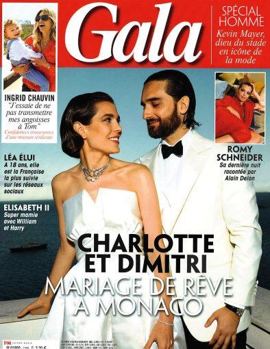 Leanelis dans le magazine Gala