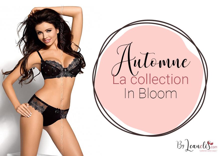 Tendances lingerie automne 2019 : découvrez la collection In Bloom d'Axami !