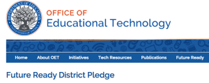 [Click picture to take the Future Ready District Pledge]