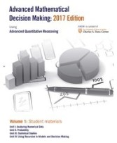 Advanced Mathematical Decision Making: 2017 edition