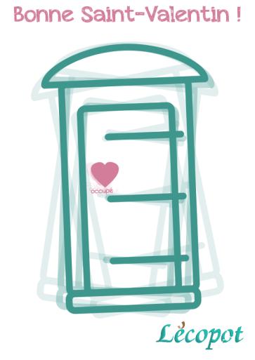 Toilette sèche Lécobox saint-Valentin