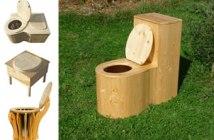 modèles de toilettes sèches à compost