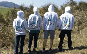 Léquipe de coureurs Lécopot