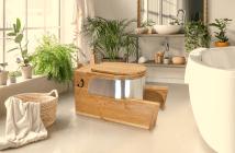 Toilette sèche ergonomique