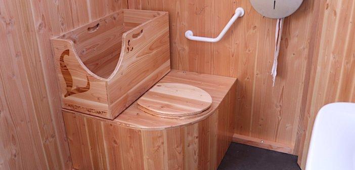 L'intérieur de la LécoBox PMR sanitaire