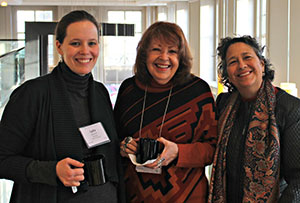 (from left to right) Lydia Breiseth, Pat Mora, Oralia Garza de Cortes