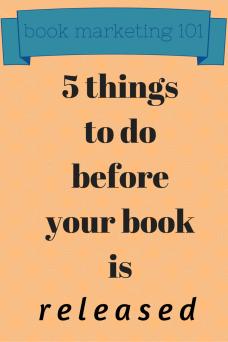 book marketing 101