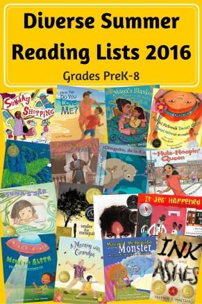 Diverse Summer Reading List 2016