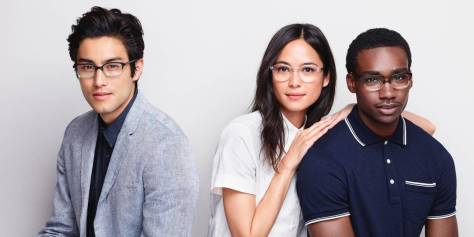 Warby Parker's Low Bridge Fit collection Ad