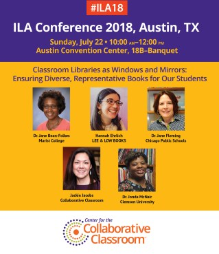 ILA Panel: Classroom Libraries as Windows and Mirrors