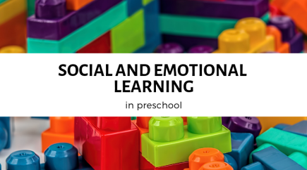 Social and Emotional Learning in Preschool