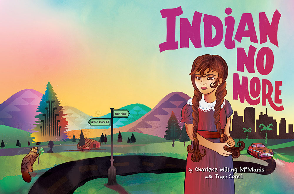 Cover Reveal: Indian No More by Charlene Willing McManis