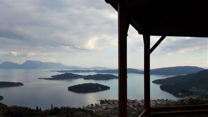 Views above Nidri