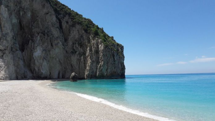 Beach vacation in Lefkada